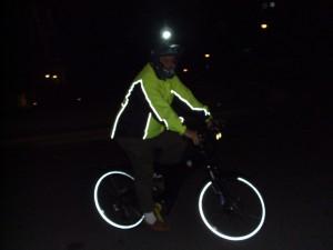 Eric R testing new night gear