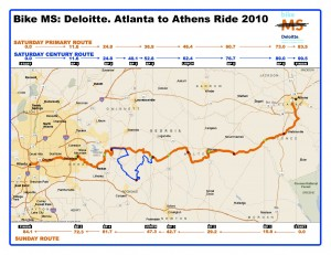 MS 150 Atlanta - Athens